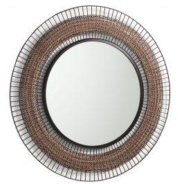 Kulaté kovové zrcadlo LaForma Robil 90 cm