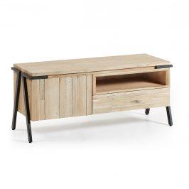 Masivní akátový TV stolek LaForma Disset 125 x 45 cm