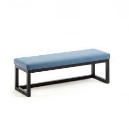 Modrá čalouněná lavice LaForma YOLA