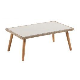 Zahradní konferenční stolek LaForma Gillian 100x60 cm