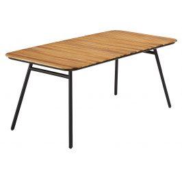 Přírodní akátový zahradní jídelní stůl LaForma Skod 180x90 cm