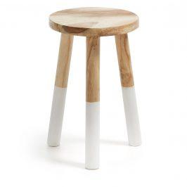 Přírodní dřevěná stolička LaForma Crosby