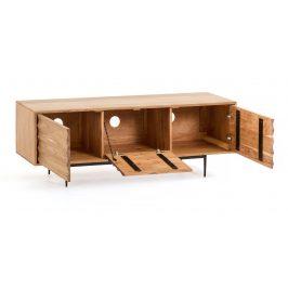 Akátový TV stolek LaForma Delsie 147 x 38 cm