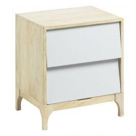 Dřevěný noční stolek LaForma Fuzzy
