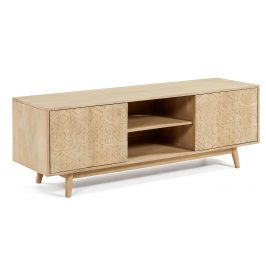 Dřevěný TV stolek LaForma Sakoi 160 x 45 cm Stolky pod TV
