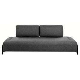 Tmavě šedá čalouněná pohovka LaForma Compo 232 cm