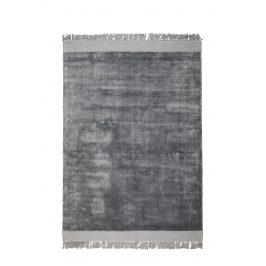 Stříbrně šedý koberec ZUIVER BLINK 200x300 cm
