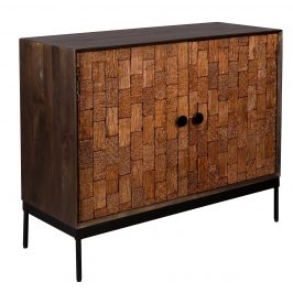 Dřevěná komoda DUTCHBONE Chisel 100 x 45 cm
