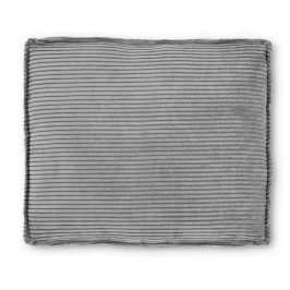 Šedý čalouněný polštář LaForma Blok 60x70 cm