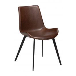 DAN-FORM Vintage hnědá čalouněná židle DanForm Hype