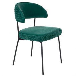 Světle zelená sametová židle Bold Monkey The Winner Takes It All