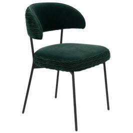 Tmavě zelená sametová židle Bold Monkey The Winner Takes It All