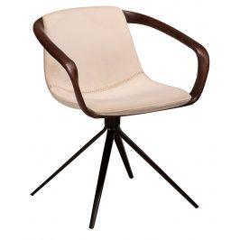 DAN-FORM Perlová čalouněná jídelní židle DanForm Jomo