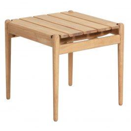 Dřevěný zahradní odkládací stolek LaForma Simja
