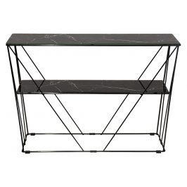 Černý toaletní stolek RGE Cube 100 x 25 cm