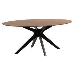 Dřevěný ořechový jídelní stůl LaForma Naanim 180x110 cm