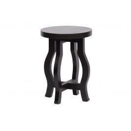 Hoorns Černá mangová stolička Boru
