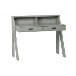 Hoorns Šedý pracovní stůl Ernie 112 cm