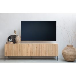 Hoorns Dubový TV stolek Gravia 180 x 46 cm