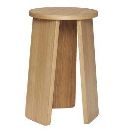 Přírodní dřevěná stolička Hübsch Goldsmith