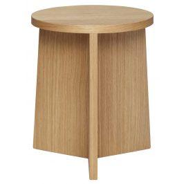 Přírodní dřevěná stolička Hübsch Goldsmith II.