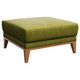 Zelený čalouněný taburet MESONICA Musso
