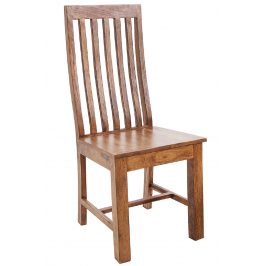 Moebel Living Přírodní masivní jídelní židle Cadem