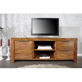 Moebel Living Masivní TV stolek Aspen 135 x 45 cm