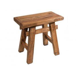 Moebel Living Přírodní dřevěná stolička Rhodos
