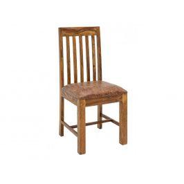 Moebel Living Přírodní masivní jídelní židle Kent