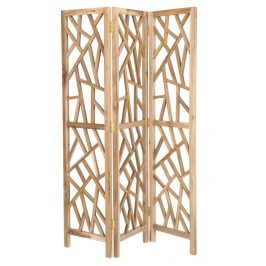 Dřevěný paravan LaForma Austy 135 x 180 cm