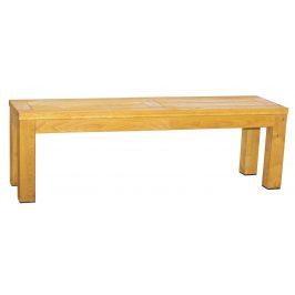 Rondo Dřevěná zahradní lavice Caro 130 x 38 cm