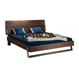 Moebel Living Masivní akátová postel Holz III 180 x 200 cm