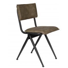 Tmavě zelená jídelní židle DUTCHBONE Willow