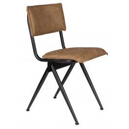 Kávově hnědá jídelní židle DUTCHBONE Willow