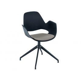 Béžová čalouněná jídelní židle HOUE Falk I.