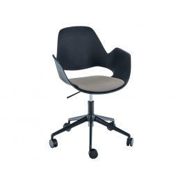 Béžová čalouněná konferenční židle HOUE Falk