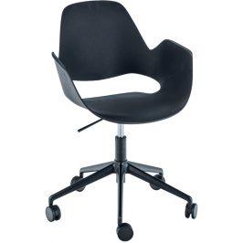 Černá plastová konferenční židle HOUE Falk