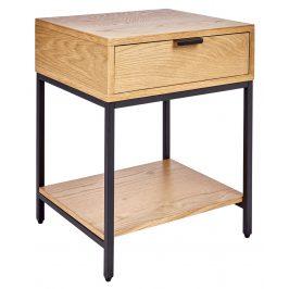 Moebel Living Přírodní noční stolek Cubic