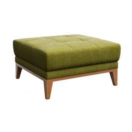 Zelený čalouněný taburet MESONICA Musso Tufted
