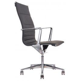 OfficeLab Černé čalouněné kancelářské křeslo Stello