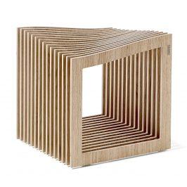 Přírodní dubová stolička Tabanda FALON