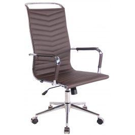 DMQ Tmavě hnědá kancelářská židle Lexus