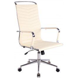 DMQ Béžová kancelářská židle Lexus