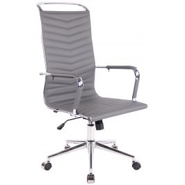 DMQ Šedá kancelářská židle Lexus