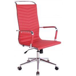 DMQ Červená kancelářská židle Lexus