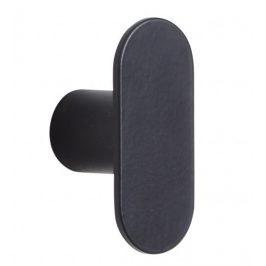 Černý kovový věšák Hübsch Knob