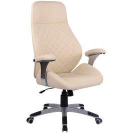 DMQ Krémová kancelářská židle Bentley
