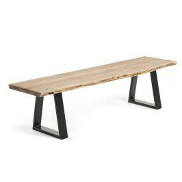 Masivní akátová lavice LaForma Sono 160 cm