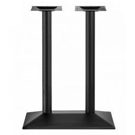 LIFE BASE Černá dvojitá stolová podnož 38 x 70 x 110 cm